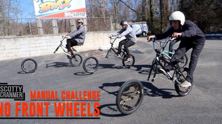 Scotty Cranmer – No Front Wheel Challenge