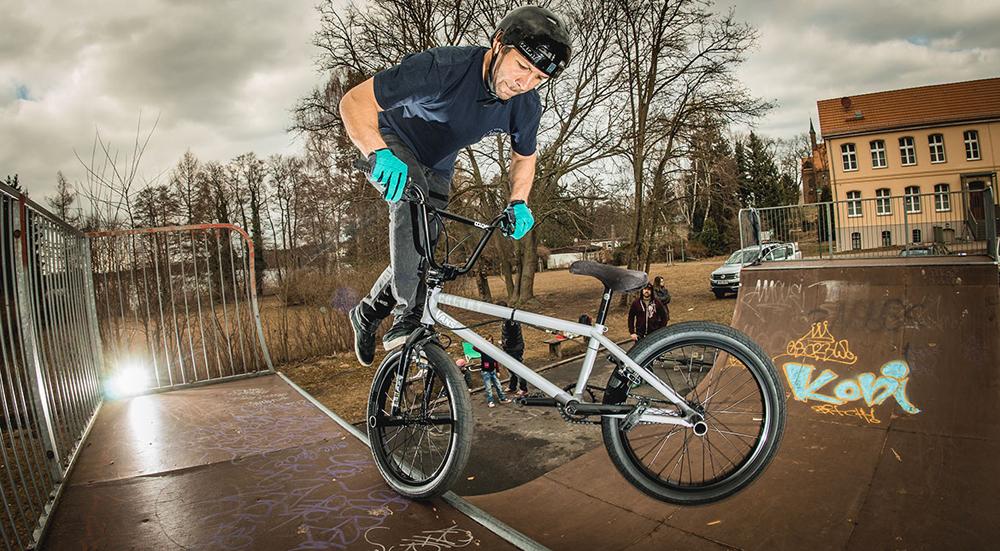 Tobias Wicke On Colony BMX Brand