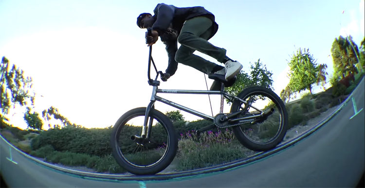 100 Foot Flat Rail BMX Jam