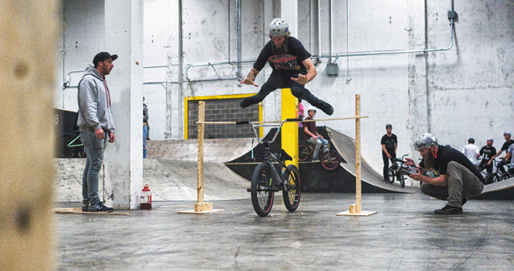 BMXFU 666 video premiere jam photogallery