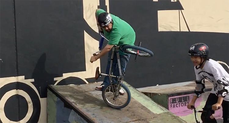Corey Furmage Flip The Script 2 BMX video Full Factory