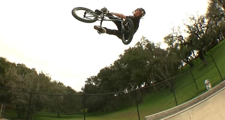 Demolition Parts Kris Fox Wheel Promo BMX video