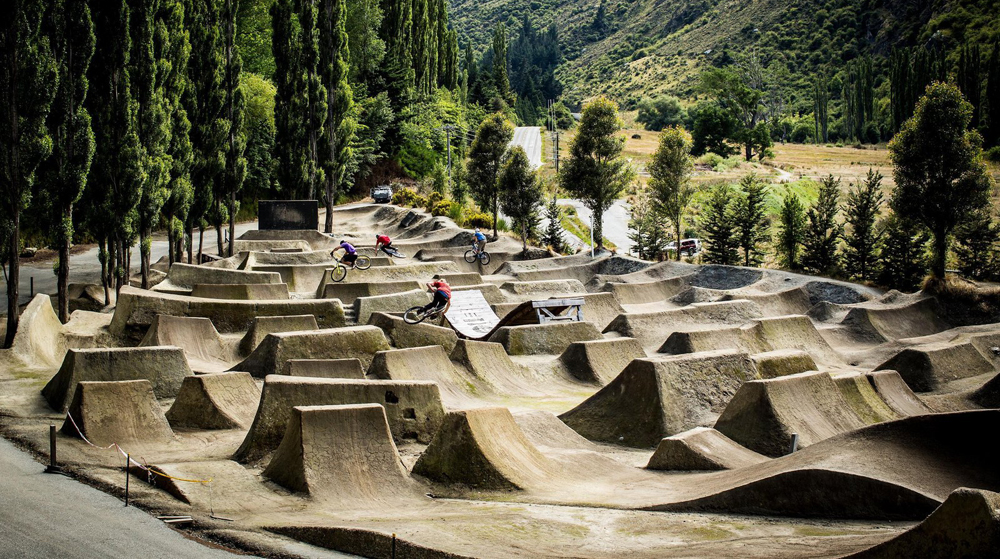 Gorge Road Trails Queenstown New Zealand BMX Bike Park MTB