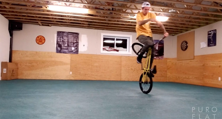 Jean William Prevost Puro Flat BMX video