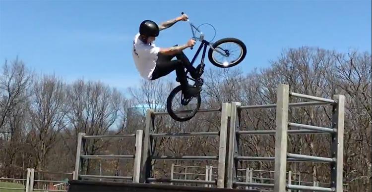 Joe Battaglia BMX video