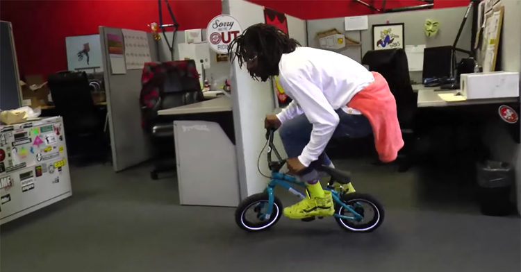 Kareem's World Kribs S&M Bikes Warehouse BMX video