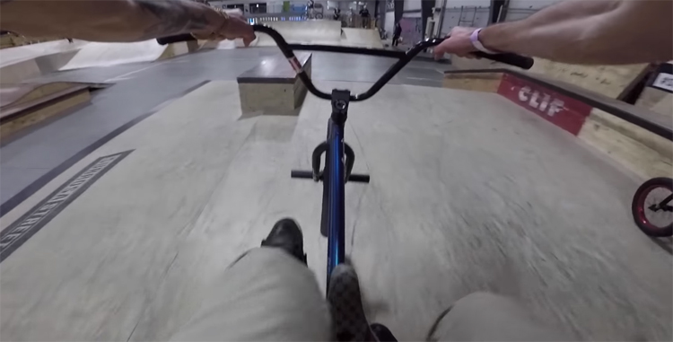 Matt Ray GoPro POV BMX video
