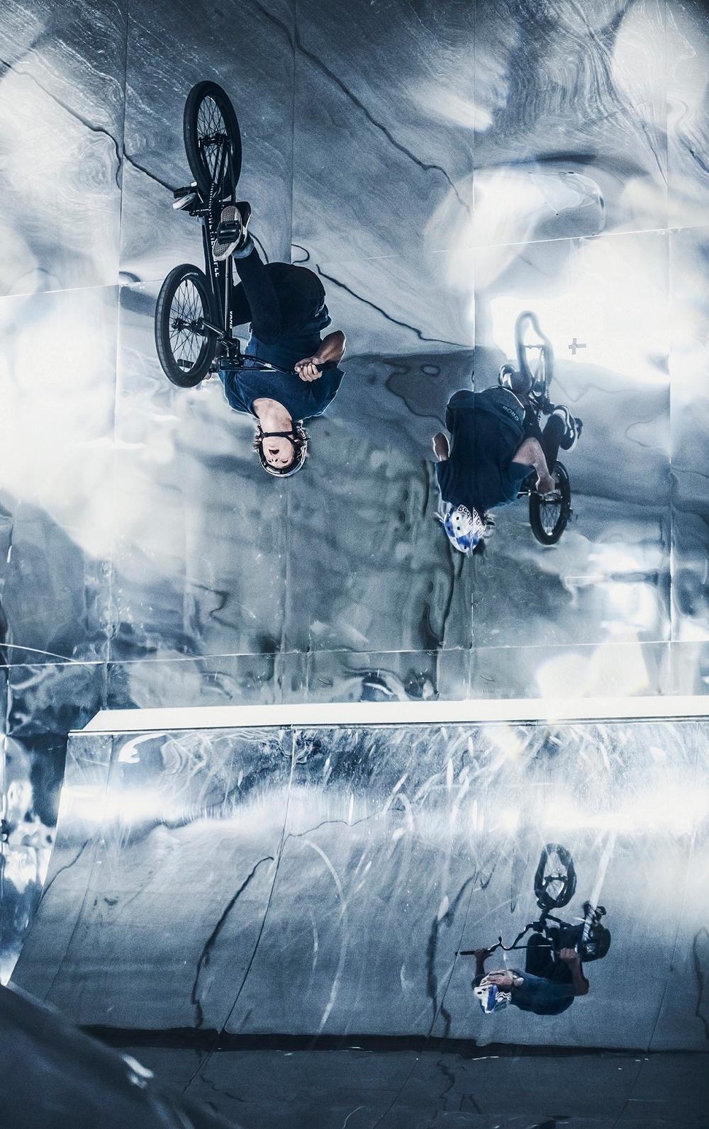 Red Bull Mirror Park BMX video Courage Adams Paul Tholen