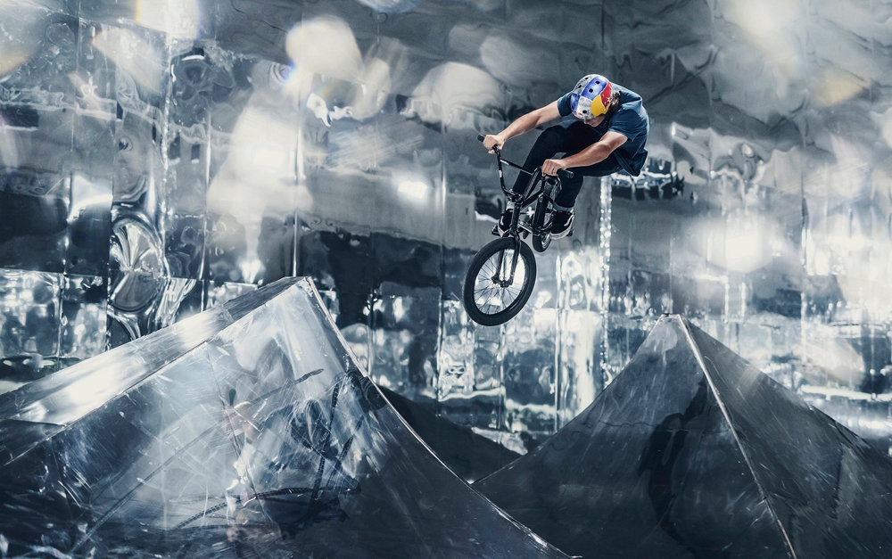 Red Bull Mirror Park BMX video Courage Adams Paul Tholen