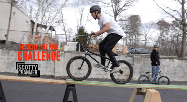 Scotty Cranmer – Tire Ride Obstacle Course Challenge