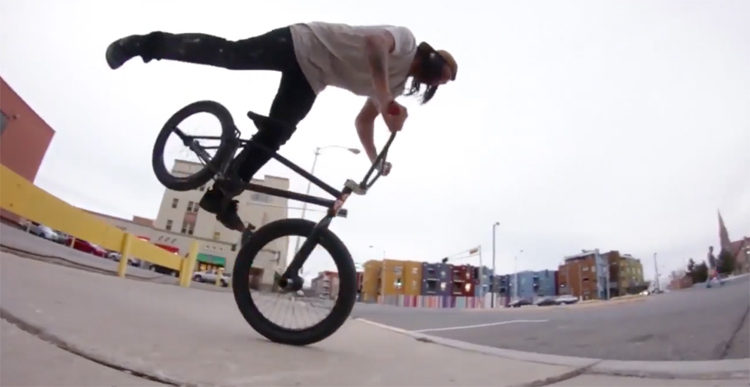 "S&M Bikes – Derek Dorame ""Hot Dogs Who Can't Read"" Section"