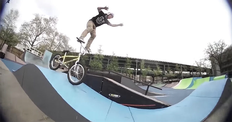 "S&M Bikes – Mike ""Hucker"" Clark ""Hot Dogs Who Can't Read"" Section"