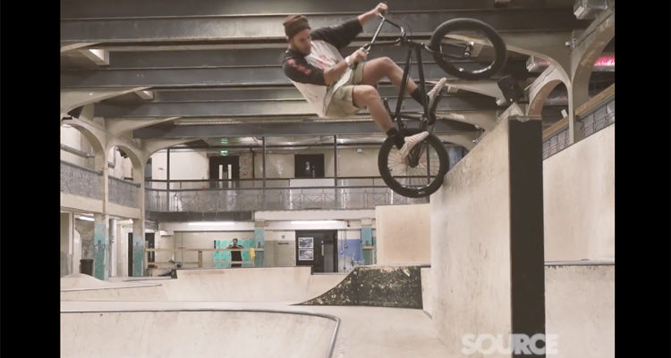 Source BMX Trey Jones Lock In BMX video