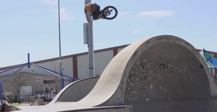 Terrible One Joseph Frans Days Gone By BMX video