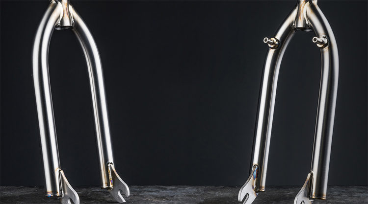 Sneak Peek: Titanium Fork From Mike Laird