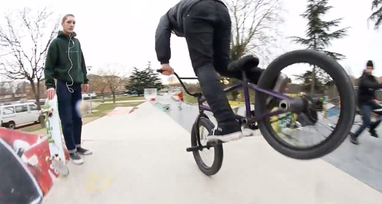 Tom Miller Bikesquare Welcome BMX video