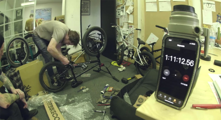 Van Homan Bike Build Challenge BMX video