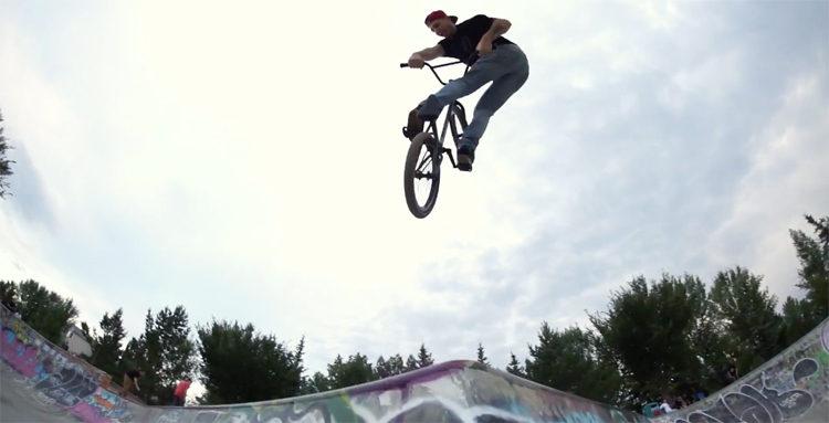 Weird & Revered Park BMX video