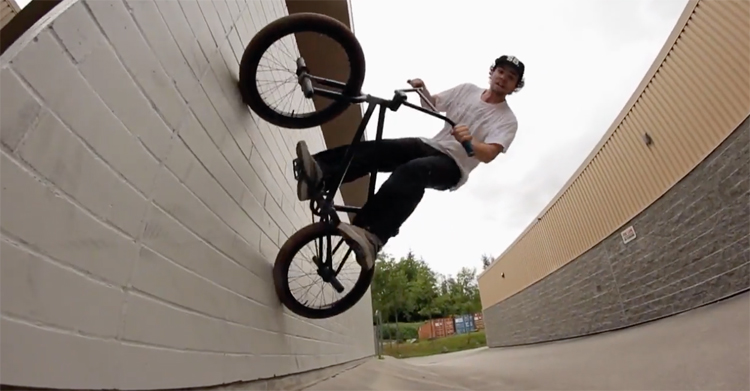 3Ride X Ceneca Kyle White Welcome BMX video