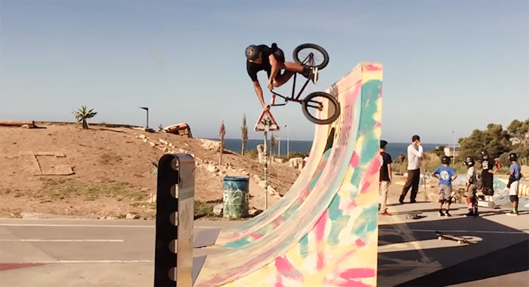 Belmonte Road Trip BMX video