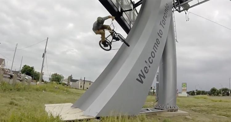 Chris Silva Half Empty BMX Video
