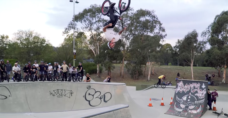 Colony BMX Sessions at Canberra ACT Jam BMX video