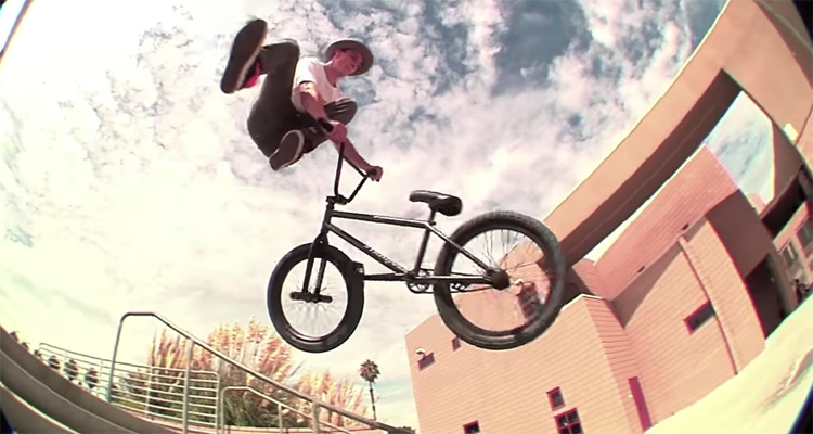 Common Crew Monster Mash Alec Siemon BMX video