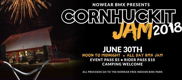 Nowear Cornhuckit Jam 2018 Flyer