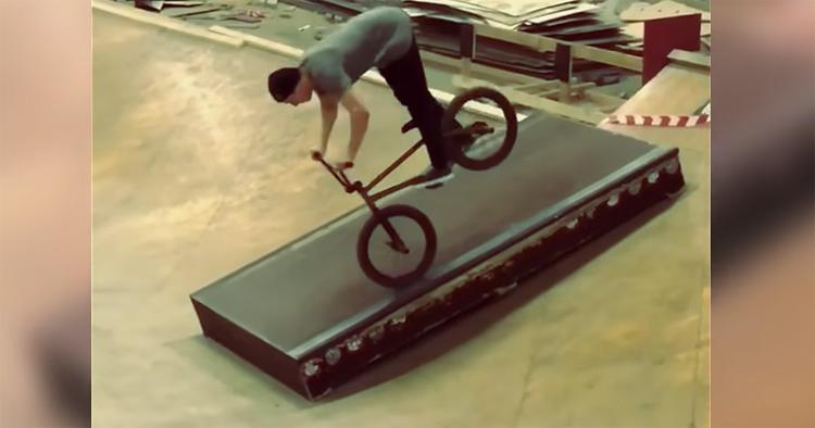 Ed Zunda Instagram Compilation BMX video