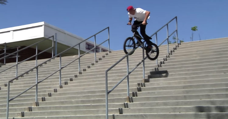 Ethan Corriere Monster Mash Common Crew BMX video
