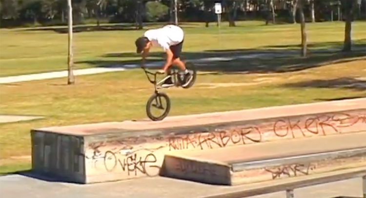 Hamptons Skatepark Edit BMX video
