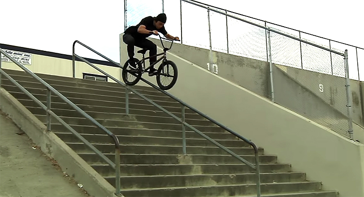 Julian Arteaga Monster Mash DVD BMX video