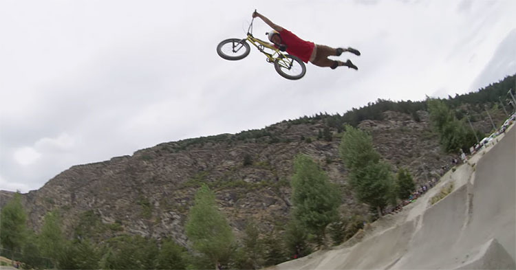 Ratpack Round 3 Destination Queenstown BMX video