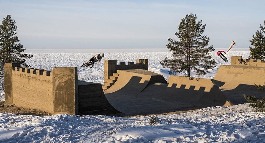 Red Bull Sand Castle Project Irek Rizaev Kostya Andreev