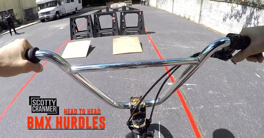 Scotty Cranmer BMX Hurdle Challenge BMX video
