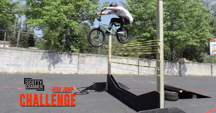 Scotty Cranmer – Sketchy High Jump Challenge