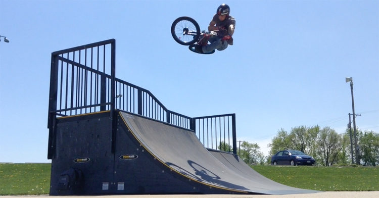Steve Kolb Mini Rampage Edit BMX video