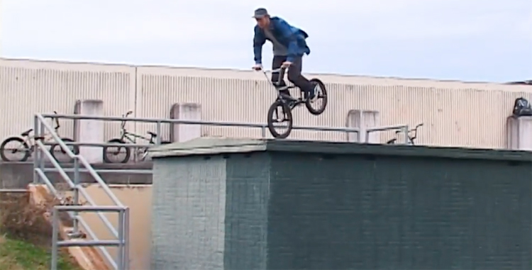 Stolen BMX Brandon Guathreaux BMX video