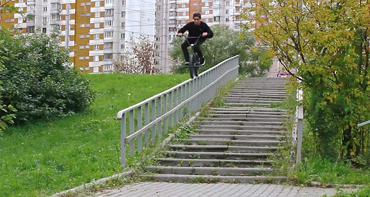 Stress BMX Max and Igor Bespaliy BMX video