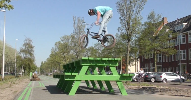 Twan Van Wijk BMX video