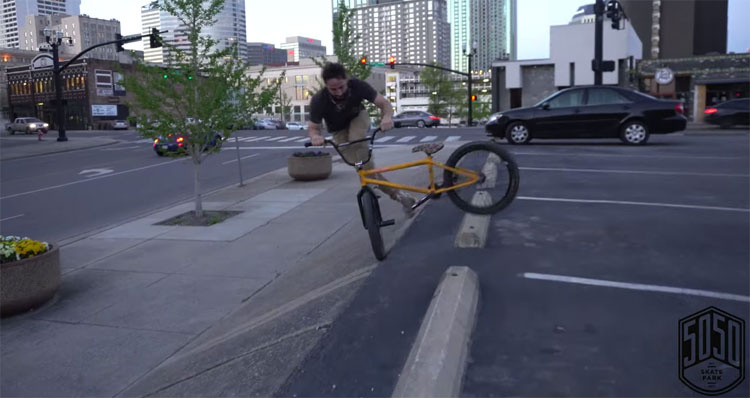 5050 Skatepark Ashville Nashville BMX video