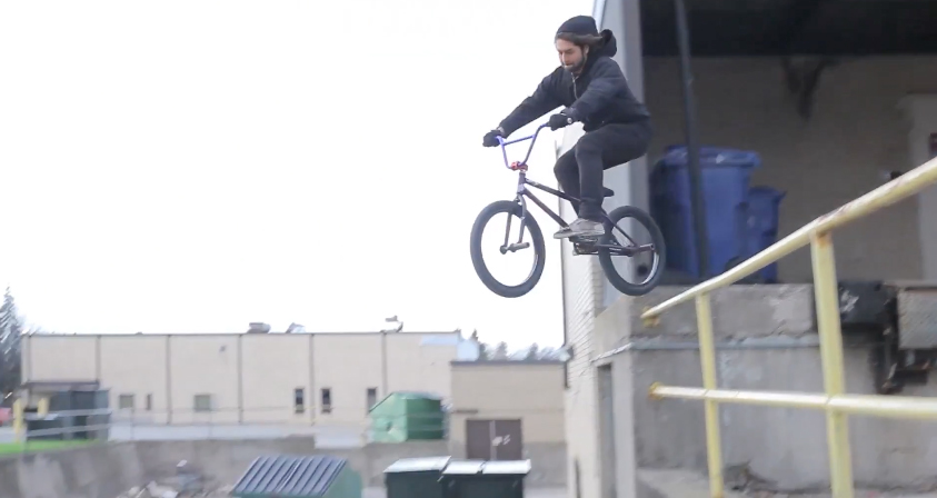 Banned 5 Billy Daniel Split BMX video