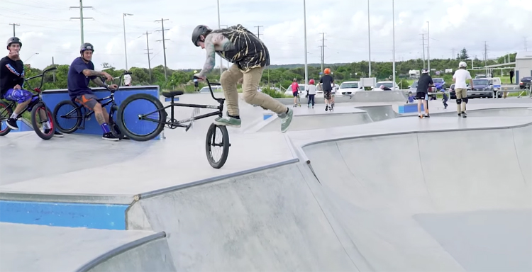 Colony BMX Sessions Sydney Australia BMX video