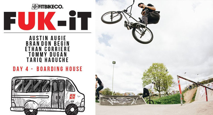 Fit Bike Co. – FUK-It Tour: Day 4 – The Boarding House