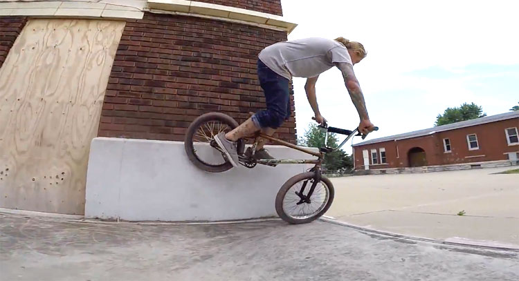 Gone Biking Back To Midwest BMX video