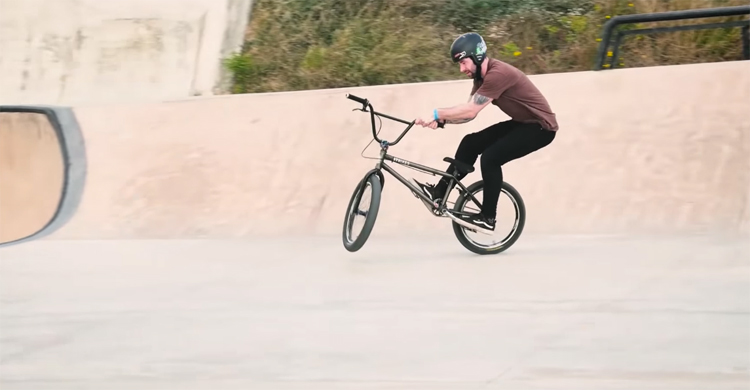 GT Bicycles Jay Cowley La Poma Bike Park BMX video