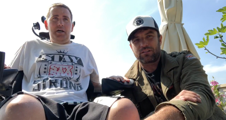 Hangin' with Lavs Stephen Murray BMX video