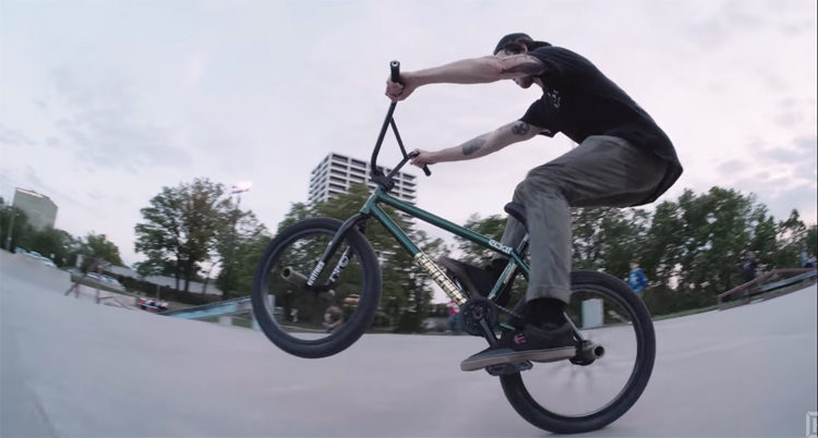 Kink BMX Kansas City Skatepark Session BMX video