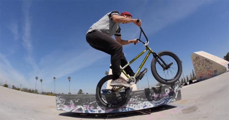 Madera BMX Memo Dylan McCauley How To 180 Back Ice BMX video