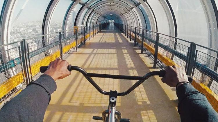 Nigel Sylvester Go London to Paris BMX video